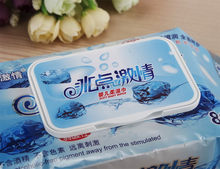Fashion hot sale alcohol clean wipes