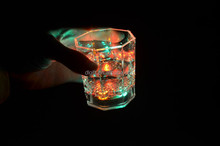 LED flashing cup for party