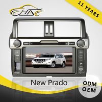 Auto car dvd player for toyota land cruiser prado 2014 Brand new Cheap Prices Sales Retail with strong packing