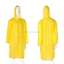 Adult Fashion Custom PVC Rain Coats