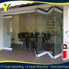 Australia Standard AS2047 Double Glazing Doors Made In China Aluminium Bifold Door