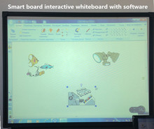 big size optical cannot portable smart board interactive whiteboard with Metal panel with matt and baking finish factory price