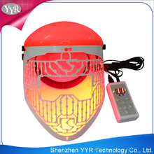 YYR 2015 effective and professional photon treatment 3 color LED for facial mask