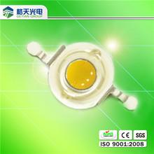 Bridgelux or Epistar chip higher lumens 1w white high power led