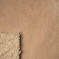 2015 winter cloth 100 polyester bonded fleece fabric