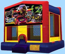 Air Race Car Inflatable Bouncer Castle Trampoline