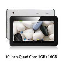 """10"""" Android 4.4 A33 Quad Core Tablet PC Bundled with Keyboard"""