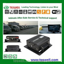 Mobile Video Monitoring and Management Solution, Mobile DVR , MDVR for Tour Bus taxi train