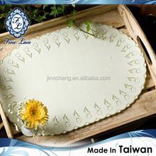 Simple & Elegant Tulip Lace Table Mat, Waterproof & Premium