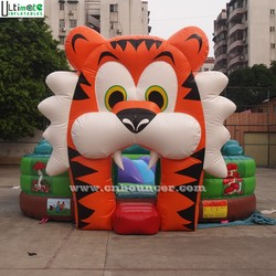Indoor inflatable playground of big tiger for kids from Ultimate Inflatables