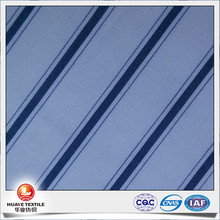 yarn dyed 100 cotton carbon peach navy blue and white stripe poplin fabric