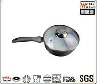 Aluminum non-stick ceramic coating sauce pan ceramic milk pot
