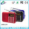 portable multi band radio Fm mp3-player L-218AM