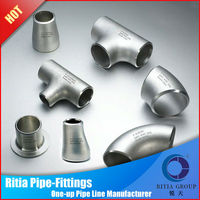 astm a234wpb seamless hot dip galvanized steel pipe fittings