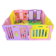 8panel multi color baby playpen children yard pen(with ASTM F963) baby product