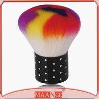 MAANGE Colorful nylon hair nail brush clean brush for nails