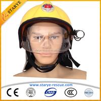 Head Protective F1 European Type Firefighting Helmet