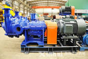 Double Stages Slurry Pump mining slurry hydraulic double pump water