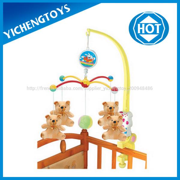 b b en peluche poup e b b musical bell mobile jouet pour berceau mobiles b b id du produit. Black Bedroom Furniture Sets. Home Design Ideas