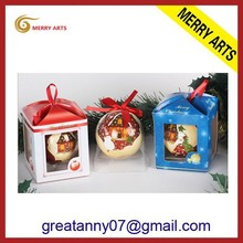 wholesale handcraft hanging ball christmas tree glass ornament from alibaba china