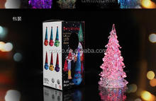 Christmas tree flashing flashing colorful children's toys LED Nightlight