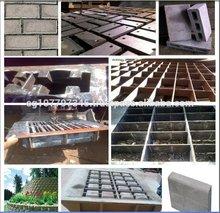 concret de cemento de ladrillo y bloque de moldes pavimentadora de moldes sello