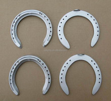 Aluminium Horseshoe For Horse Race Light and Hardness