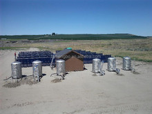 high quality pressurized epdm solar pool heating collector