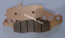 direct factory offering sintered copper Motorcycle &ATV brake pad suitble for KAWASAKI BJ 250 F1/F2 (250 TR)