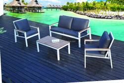 2015 hot sell Aluminum non-wood garden sofa