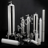 Stainless steel water filter cartridge housing for liquid
