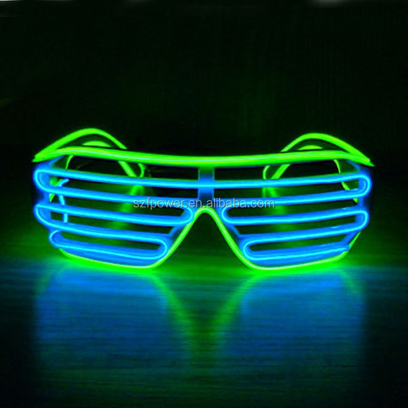 El Glow Party Glasses Light Up Flash Led Glasses Glowing Classic ...