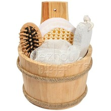 bath brush sets wooden bathroom accessory set