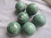 2015 Hot Sale Natural Qinghai jade stone ball Crystal Ball