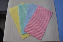 Kaixuan Factory Cheap Price Blue Diamond Pattern Disposable Cleaning Wipe