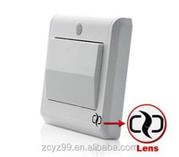 GSM light switch hidden camera with pir sensor YZ020