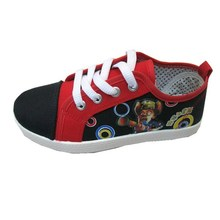 Factory direct 4 color classic style jumping canvas shoes for kids beautiful canvas shoes with Rubber sole made in China