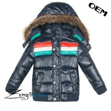 2015 fashion style factory price autumn and winter boy jacket