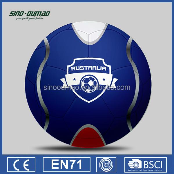Официальный размер Чемпионата мира по футболу 2018 года Вес Pvc Soccer Ball 5