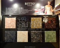countertops made of crystal gems stone