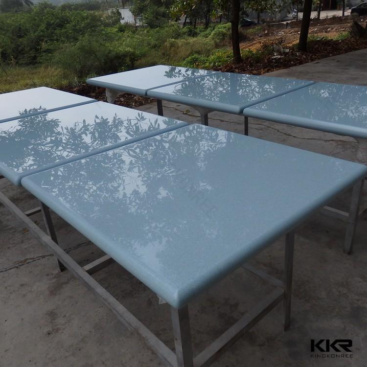 Pietra artificiale lungo e stretto tavoli da cucina-Tavolo ...
