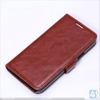 Blank Leather Protective Cover for Samsung Galaxy S5 Mini P-SAMG800PUCA007