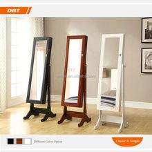 Bedroom furniture white Mirror Jewelry cabinet dressers design