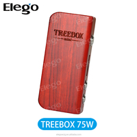 Elego wholesale Smok Treebox Mod Temp control box mod 75W high wattage