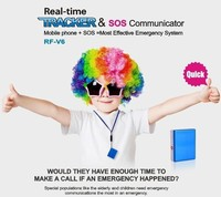 mini portable GSM/AGPS universal tracking device V6 for kids personal with sos & two communication ways