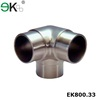 Stainless steel glass railing parts 3 way corner fitting