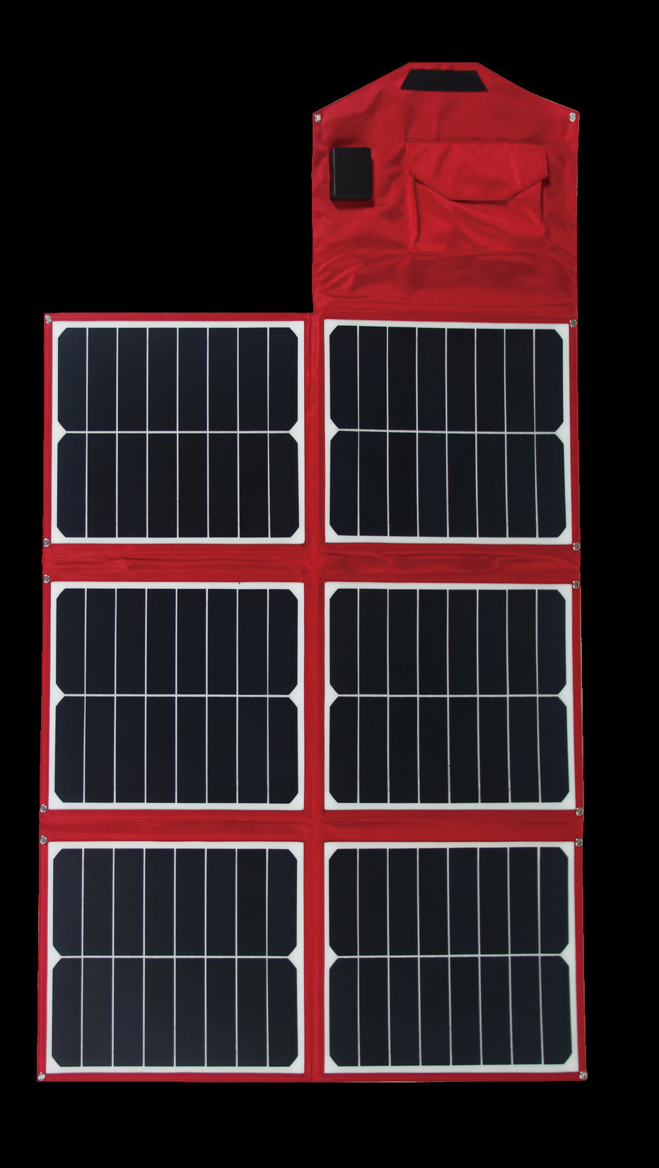 china factory 90W sunpower solar cell fabric folding solar panel for charging electrical equipment battery