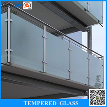25mm thick tempered glass fence panels and outdoor glass panels