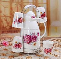 high capacity low price high quality fashional porcelain tea set