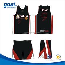 Professional customized digital printing european basketball uniforms design